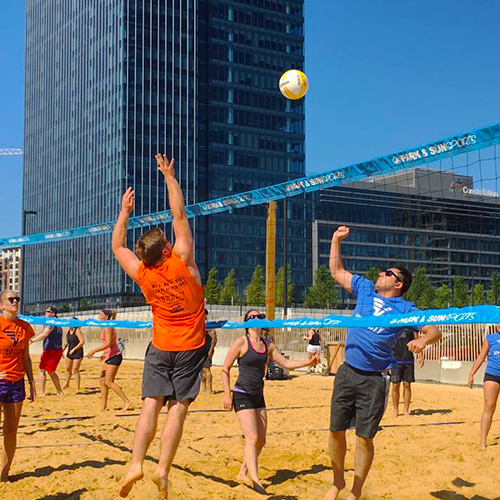 SF Volleyball Leagues Locations all over the city All levels